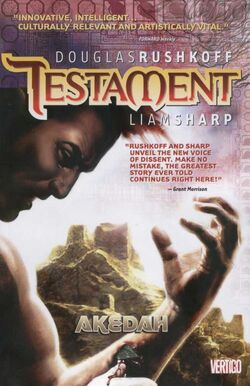 Cover for the Testament: Akedah Trade Paperback