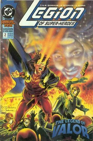 Cover for Legion of Super-Heroes #2 (1991)