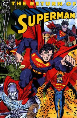 Cover for the Superman: The Return of Superman Trade Paperback