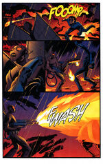 Firefly and Nightwing on a deadly duel