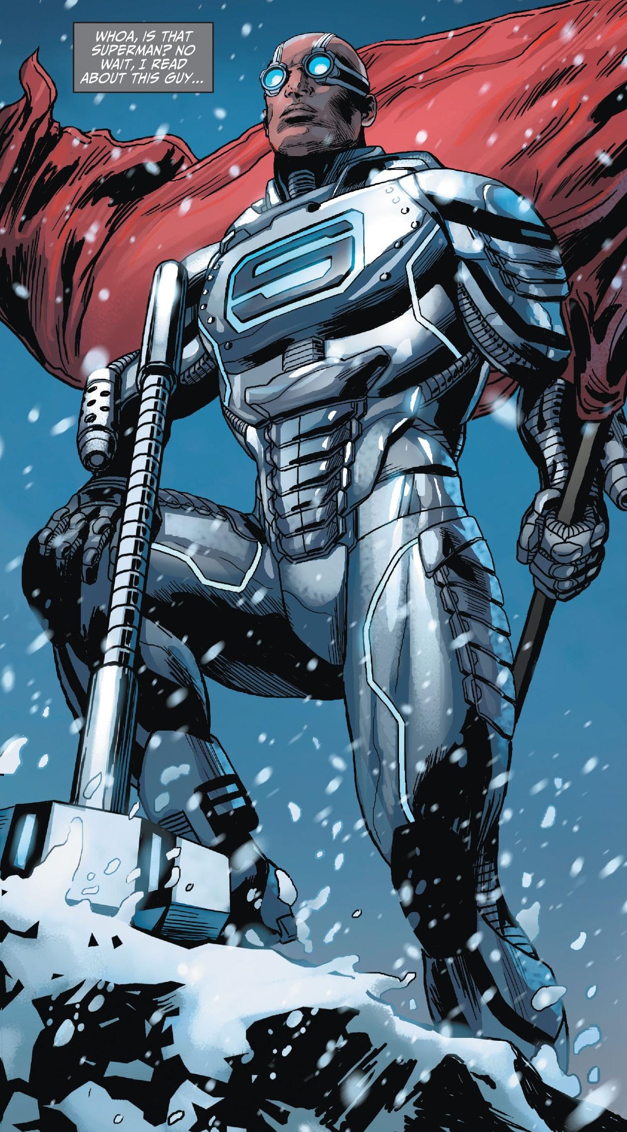 Resultado de imagem para steel dc comics new 52