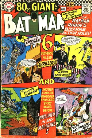 Cover for Batman #193 (1967)