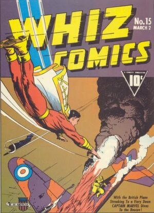Cover for Whiz Comics #15 (1941)