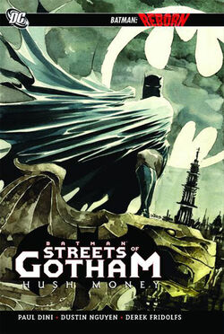 Cover for the Batman: Streets of Gotham: Hush Money Trade Paperback
