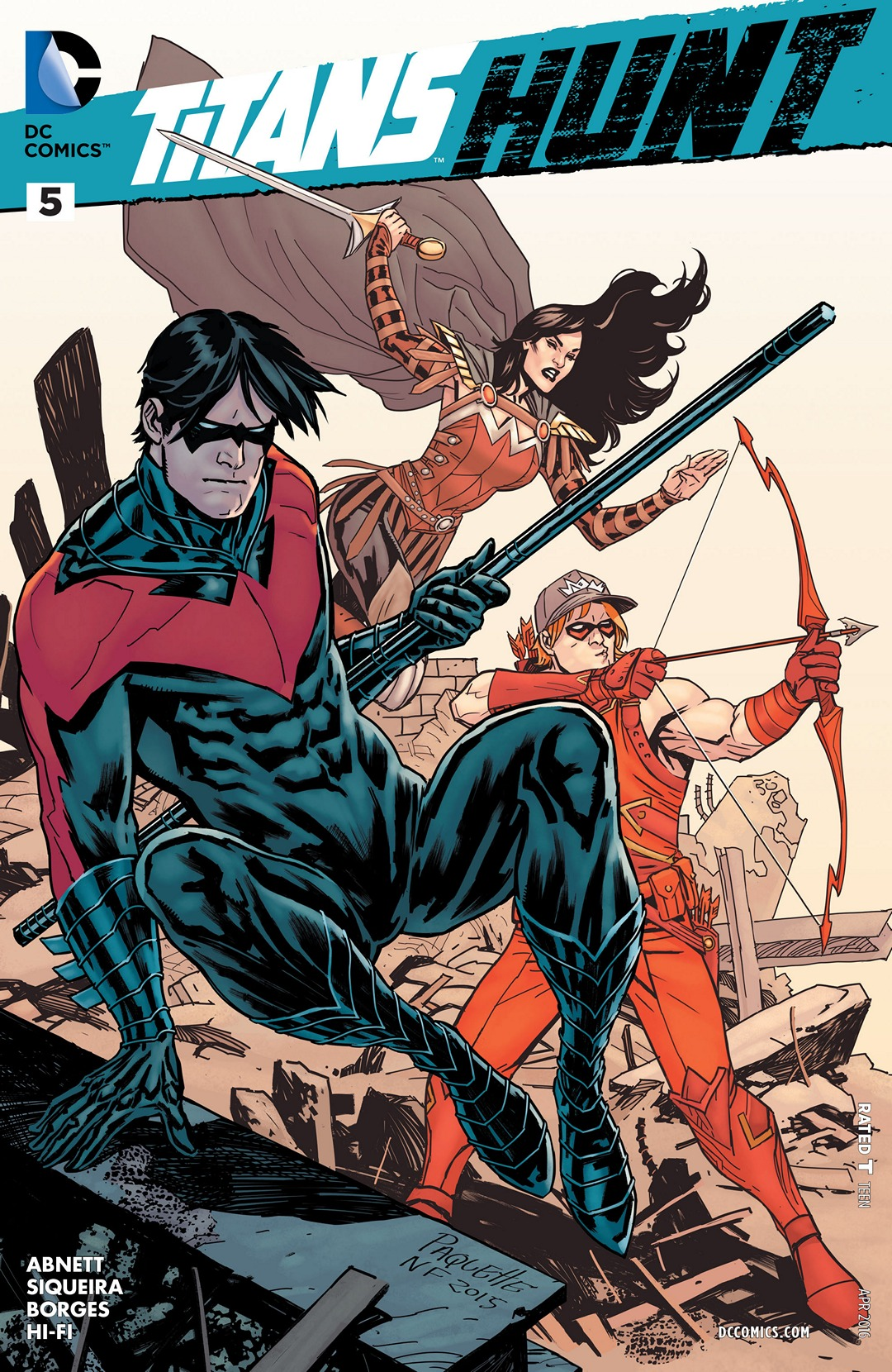 Titans Hunt Vol 1 5 DC Database FANDOM Powered By Wikia