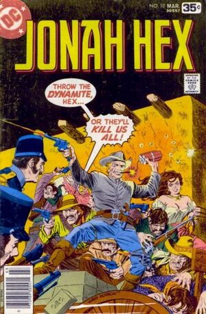 Cover for Jonah Hex #10 (1978)