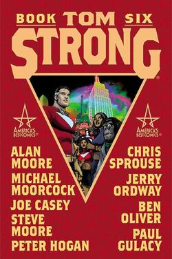 Cover for the Tom Strong: Book Six Trade Paperback