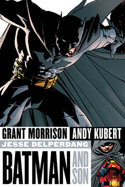 Cover for the Batman and Son Trade Paperback