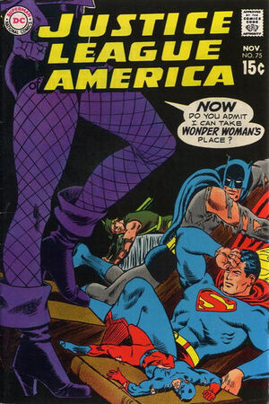 Cover for Justice League of America #75 (1969)