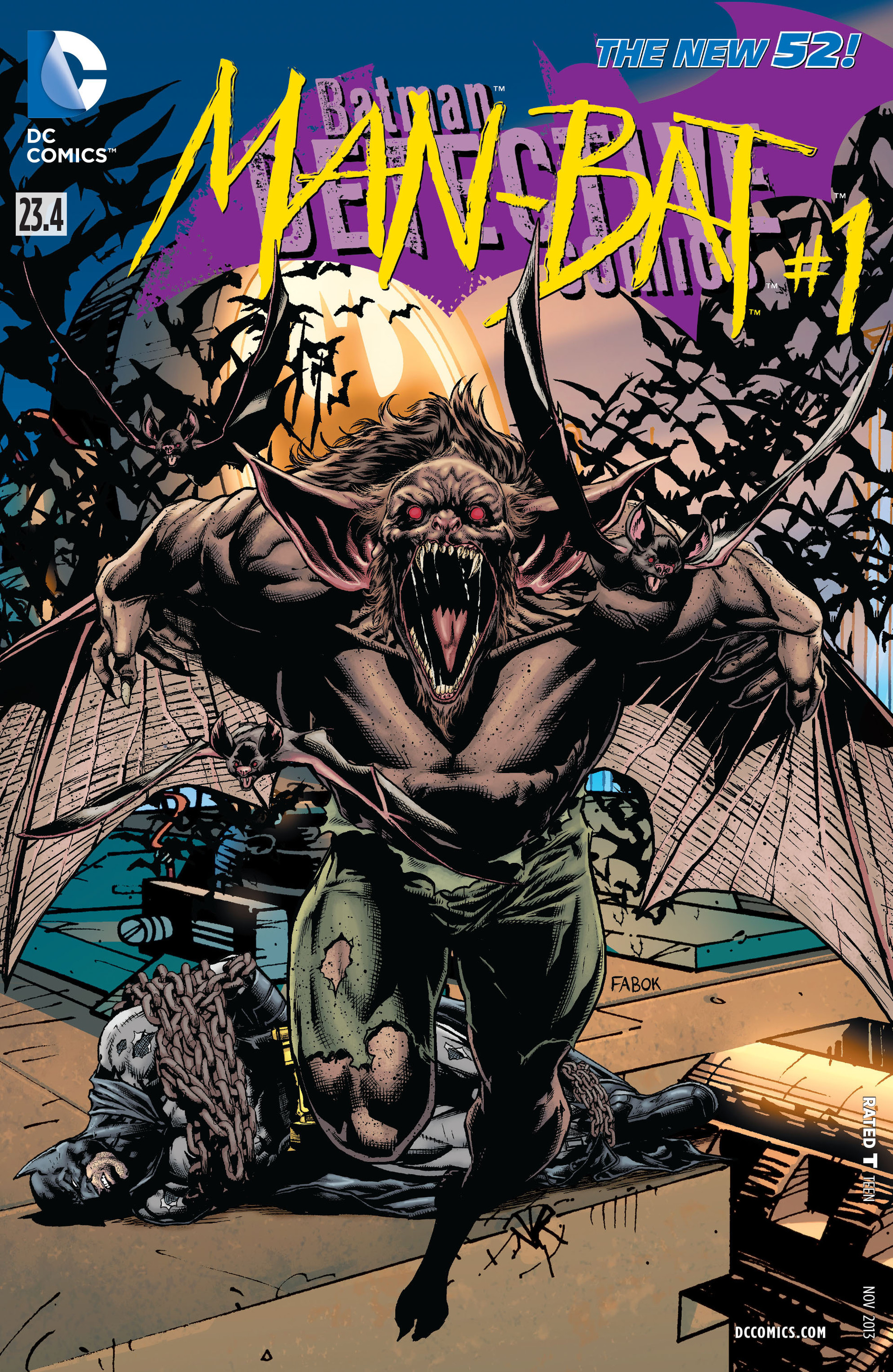 transformation Teen titans comic