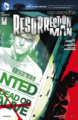 Cover for Resurrection Man #7 (2012)