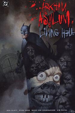 Cover for the Arkham Asylum: Living Hell Trade Paperback