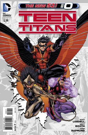 Cover for Teen Titans #0 (2012)