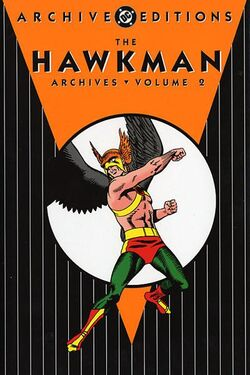Cover for the The Hawkman Archives Vol. 2 Trade Paperback