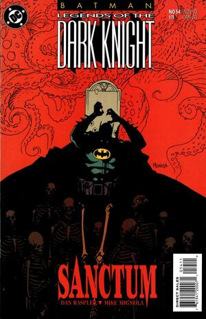 Cover for Batman: Legends of the Dark Knight #54 (1993)