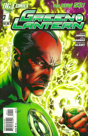 Cover for Green Lantern #1 (2011)