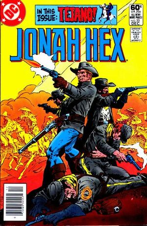 Cover for Jonah Hex #55 (1981)