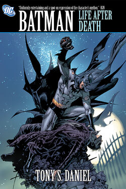 Cover for the Batman: Life After Death Trade Paperback