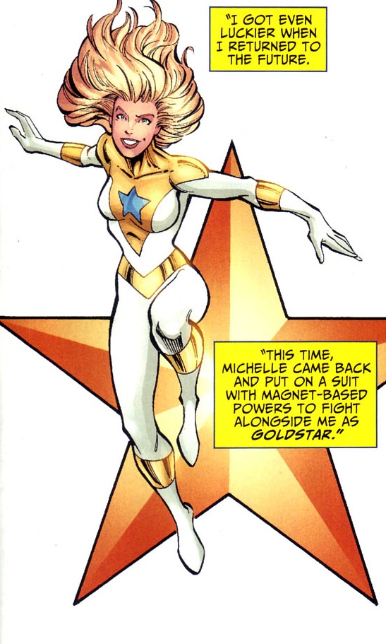 Michelle Carter booster gold