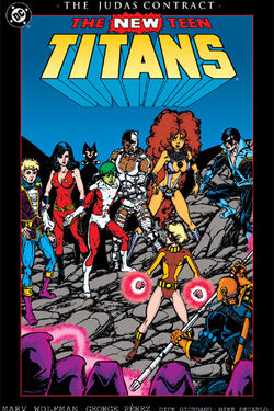 New Teen Titans Judas Contract TP