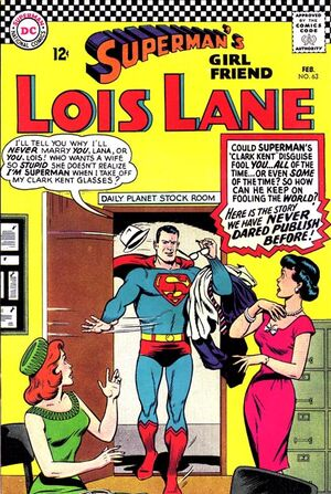 Cover for Superman's Girlfriend, Lois Lane #63 (1966)