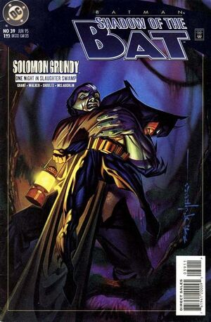 Cover for Batman: Shadow of the Bat #39 (1995)