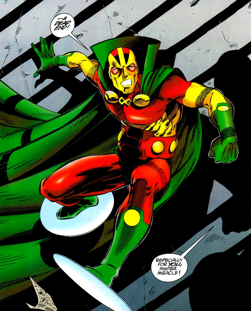 Mr. Miracle (Character) - Comic Vine