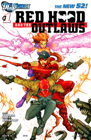 Cover for Red Hood and the Outlaws #1 (2011)