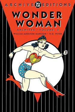 Cover for the Wonder Woman Archives Vol. 3 Trade Paperback