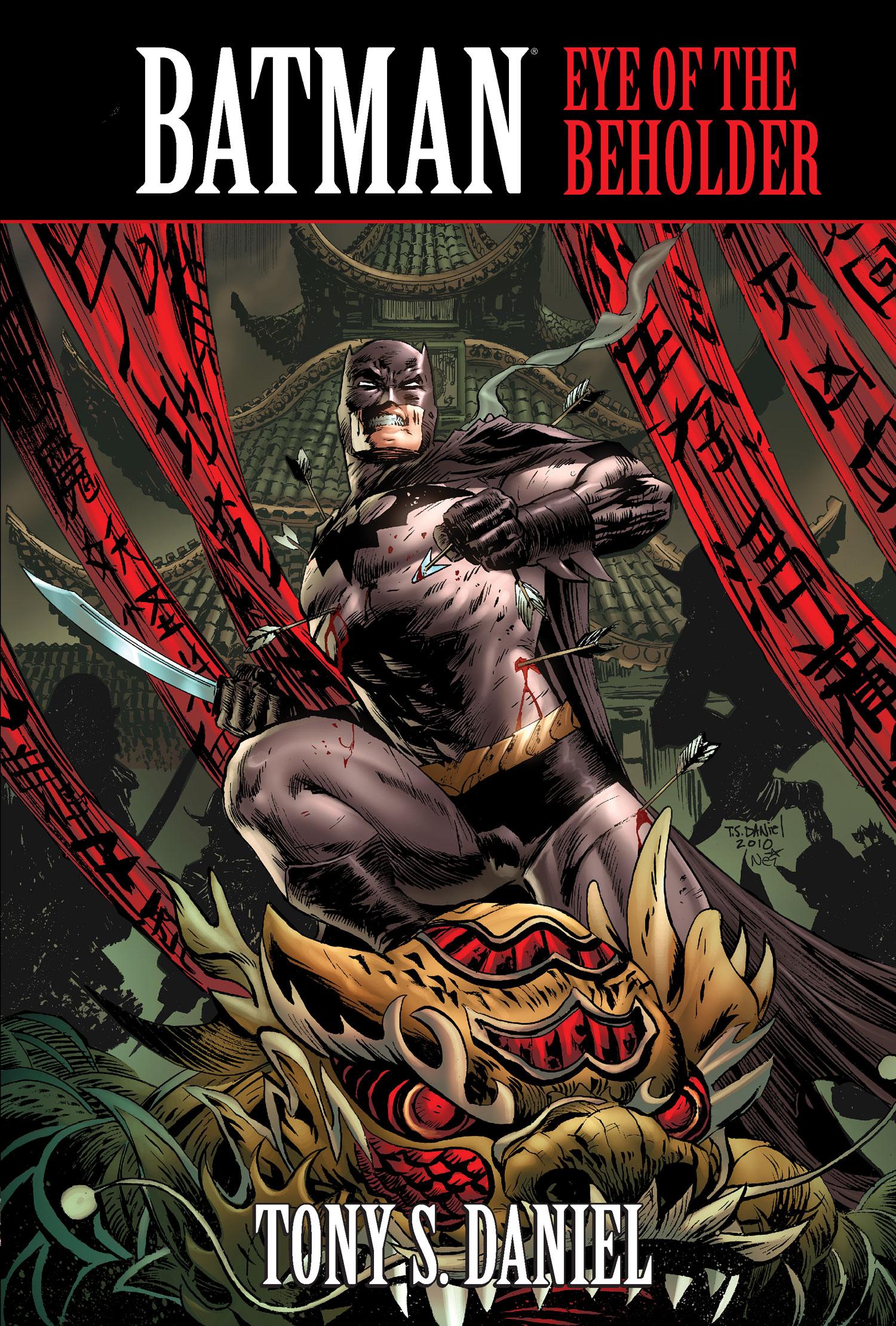 Batman Eye of The Beholder Eye of The Beholder Trade