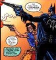 Batman Blue Grey Bat 007