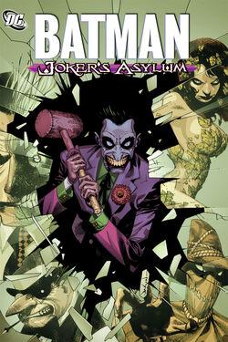 Cover for the Batman: Joker's Asylum Trade Paperback