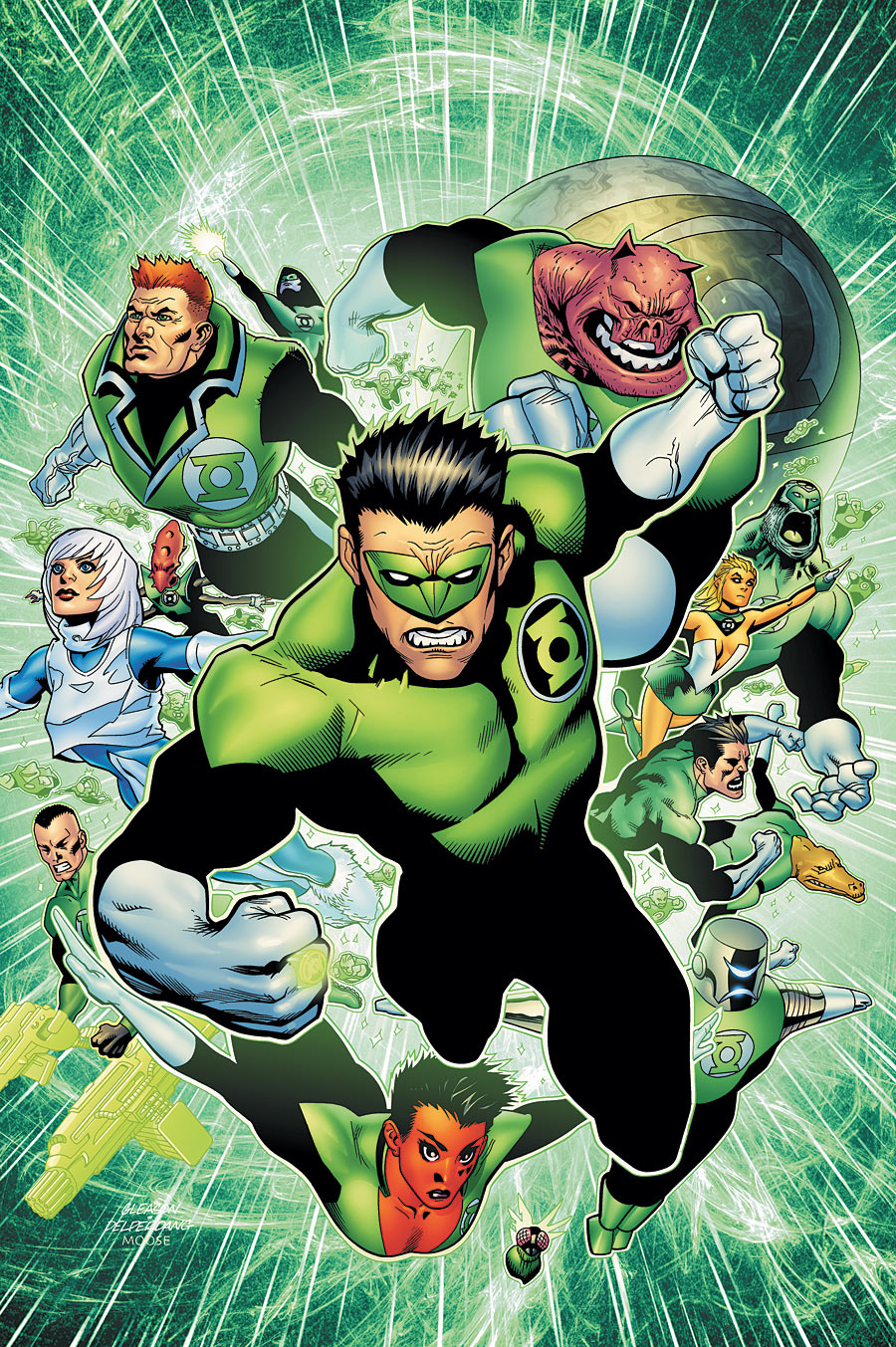 Green Lantern Corps: Ring Quest   DC Database   FANDOM