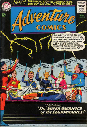 Cover for Adventure Comics #312 (1963)