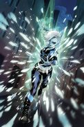 Justice League of America Killer Frost Rebirth Vol 1 1 Textless Variant