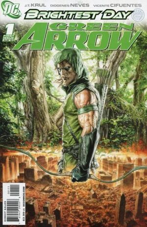 Cover for Green Arrow #1 (2010)