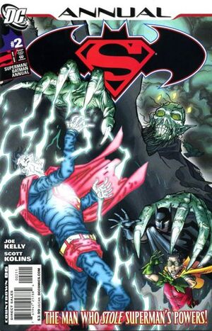Cover for Superman/Batman Annual #2 (2008)