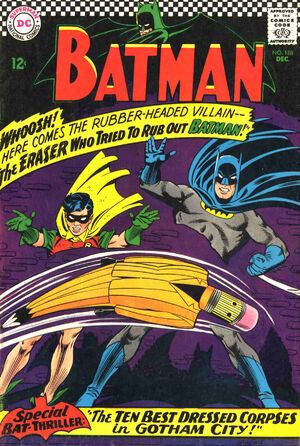 Cover for Batman #168 (1966)