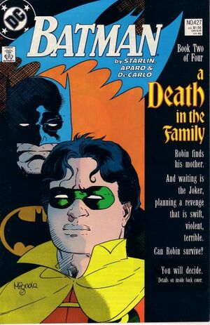Cover for Batman #427 (1988)