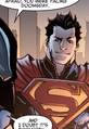 Kal-El Injustice Gods Among Us 001