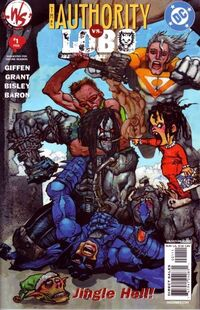 The Authority Lobo Jingle Hell Vol 1 1