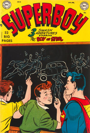 Cover for Superboy #12 (1951)