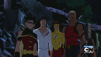 young justice tv series episode independence day dc