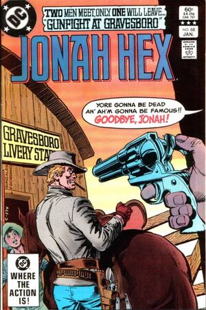 Cover for Jonah Hex #68 (1983)