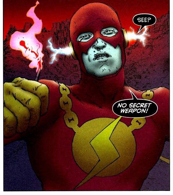 Bizarro Flash All-Star Superman 002