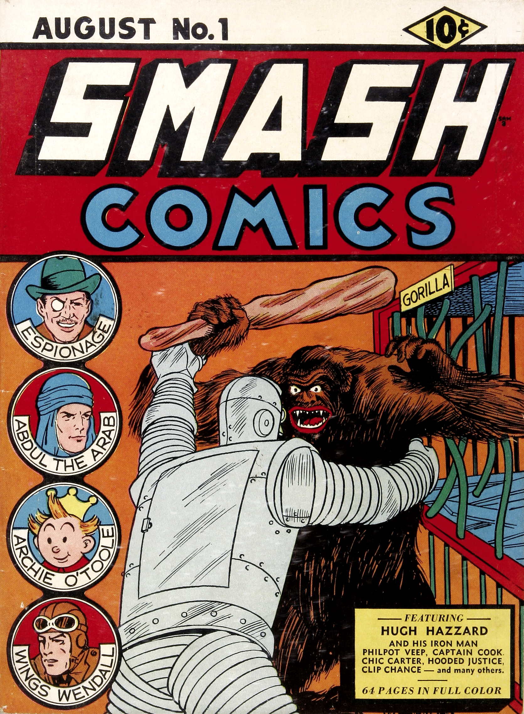 Image result for smash comics #1