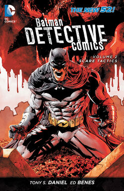 Cover for the Detective Comics: Scare Tactics Trade Paperback