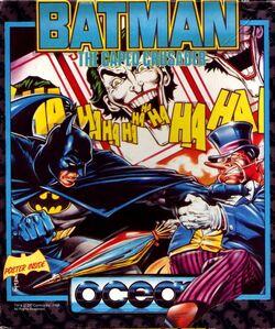 Batman Caped Crusader Game Box