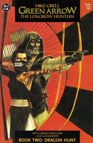Cover for Green Arrow: The Longbow Hunters #2 (1987)