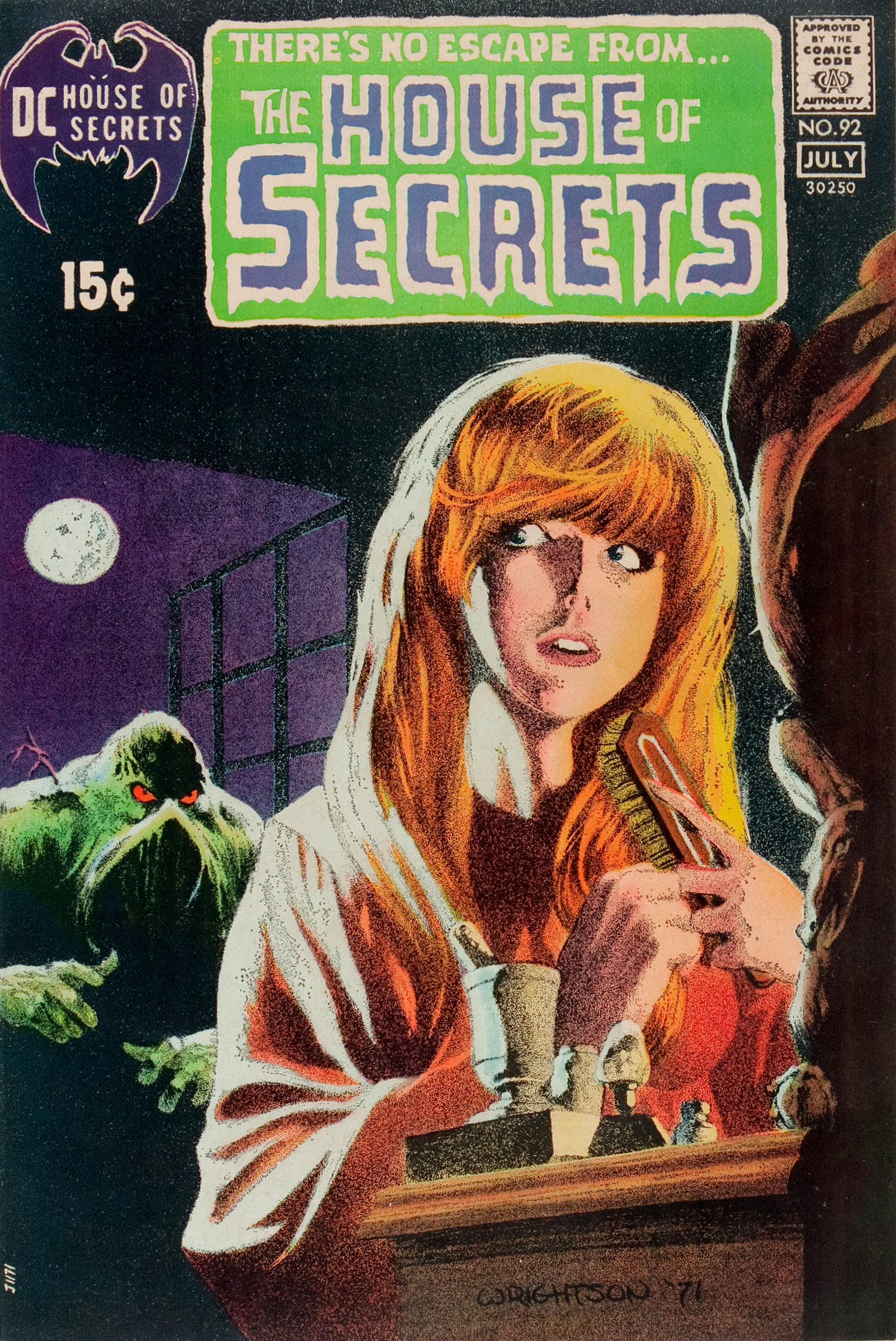 house of secrets issue 92